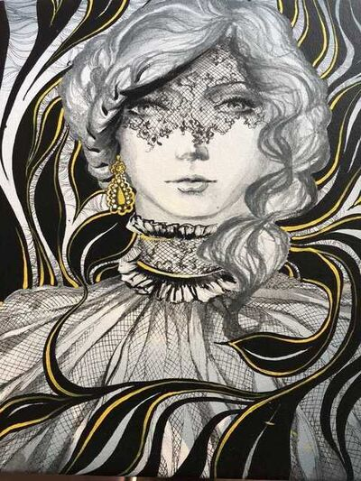 Anisa Vilner, 'Original Oil on Canvas-Portrait', Unknown