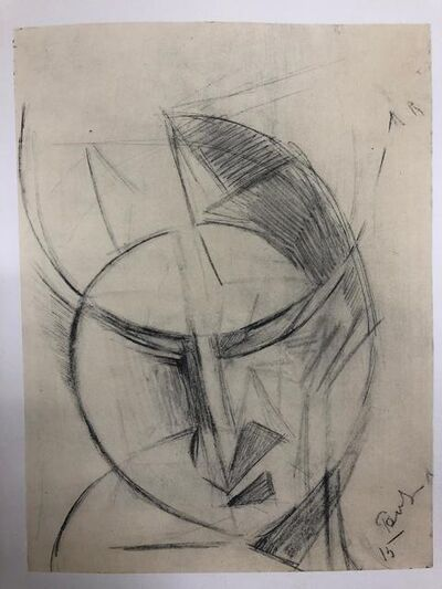 Antoine Pevsner, 'Dessin, 1915', 1959