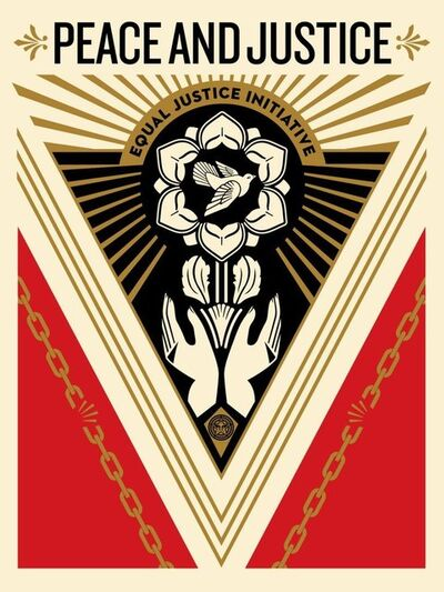 Shepard Fairey (OBEY), 'Peace & Justice Summit', 2018