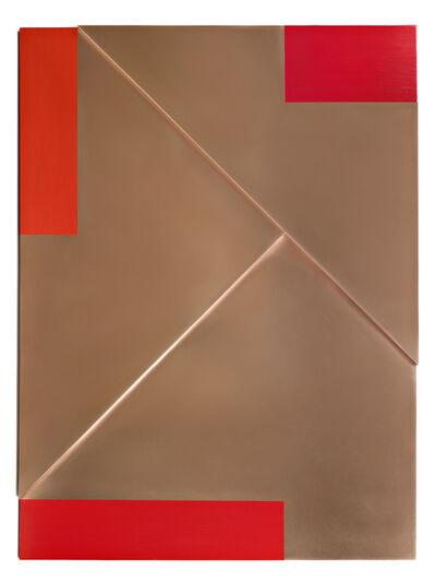 Arthur Carter, 'Three Reds on Copper', 2016