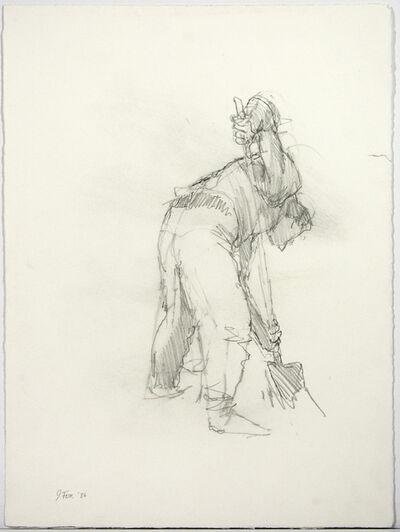 John Fox, 'Study for Digger', 1986