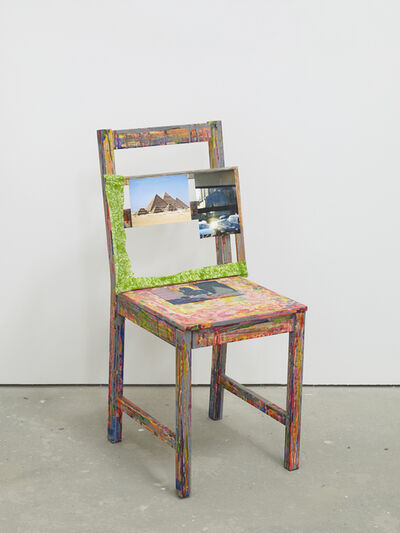 Hayley Tompkins, 'Self Portrait as a Chair', 2018