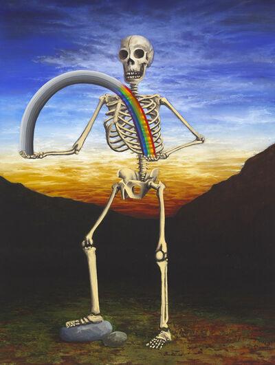 Nevan Lahart, 'St. Alchemy shuffles the deck', 2015