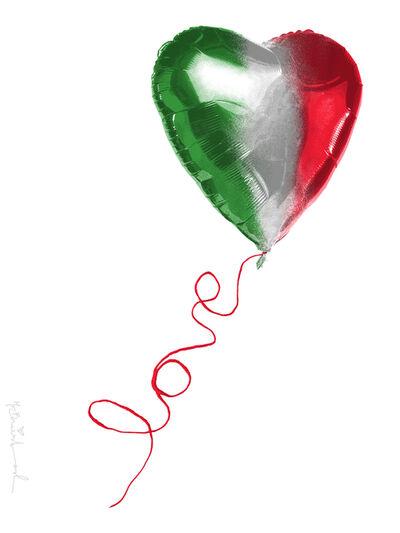 Mr. Brainwash, 'I Love Italy', 2020
