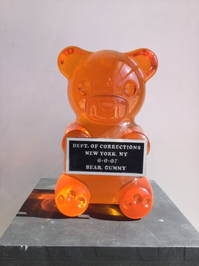 "Whisbe, 'Whisbe, 12"" Orange Vandal Gummy Sculpture', 2018"