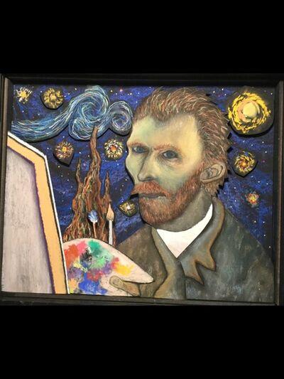 Phil Locascio, 'Van Gogh and his Starry Night', 2020