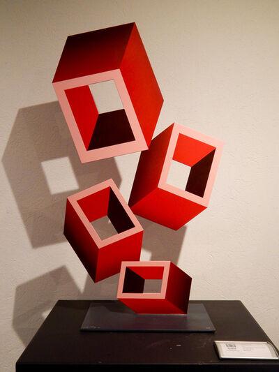 Daniel Sanseviero, 'Red Perspective (Medium)', 2019
