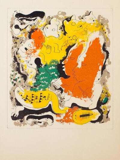 Carlos Merida, 'Estampas de Popol Vuh (Plate VIII)', 1943