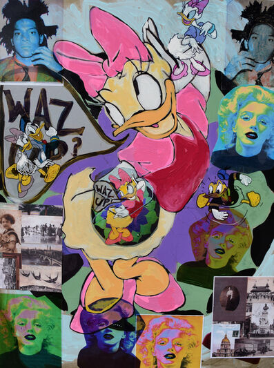 Gilda Oliver, 'Gilda Oliver -Pop Abstract Number 1', 2014