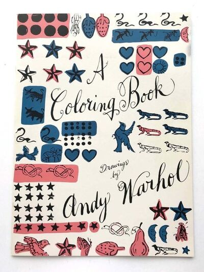 Andy Warhol, 'Andy Warhol Coloring Book (out-of-print)', 1990