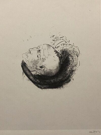 Odilon Redon, 'Visage Idéaliste', 1896