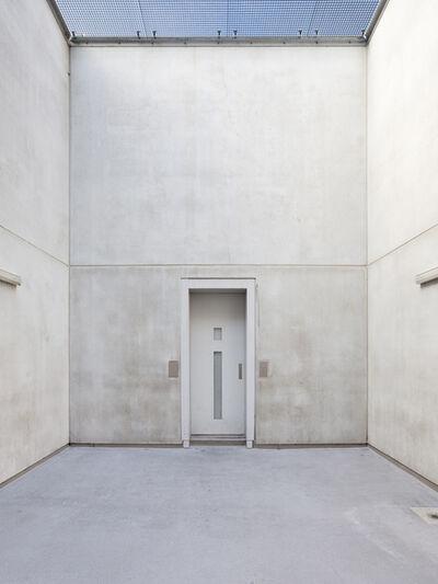 Robert Glas, 'Voor vrij Nederland (immigration detention, location Schiphol) left image', 2015