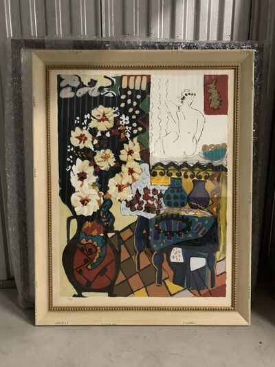917 Fine Arts Corp., 'after Matisse print with antique frame', ca. 1980