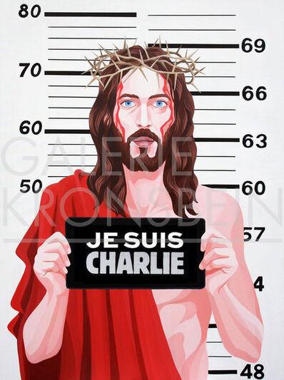 Giuseppe Veneziano, 'Jesus Charlie', 2015