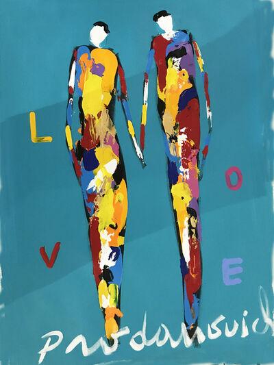 Vladimir Prodanovich, 'Blue Love', 2017