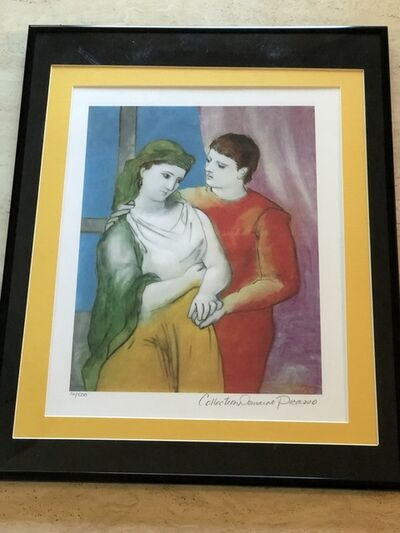 Pablo Picasso, 'The Lovers (Clothed)', Unknown