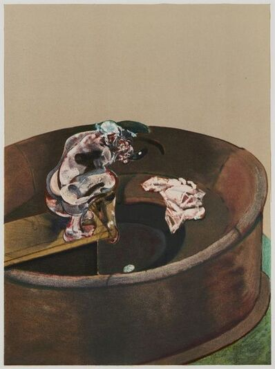 Francis Bacon, 'George Dyer Crouching', 1966