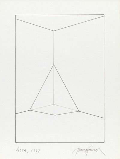 James Turrell, 'Alta', 1967