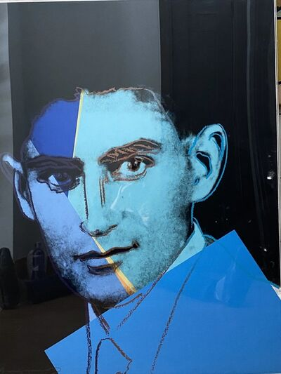 Andy Warhol, '   Franz Kafka, Ten Portraits of Jews of the Twentieth Century ', 1980