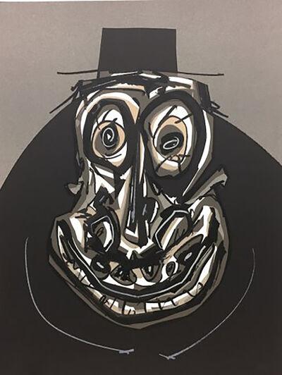 Antonio Saura, 'Melanchton I', 1988