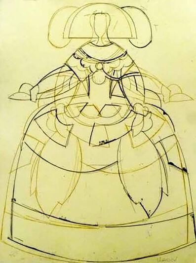 Manolo Valdés, 'Las Meninas #1', 2000
