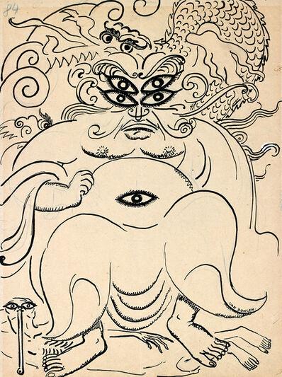 Kees van Dongen, 'Illustration pour les plus beaux contes de Kipling N°84', 1920