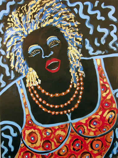 Faith Ringgold, 'Jazz Stories: Mama Can Sing 5/7', 2001-2004