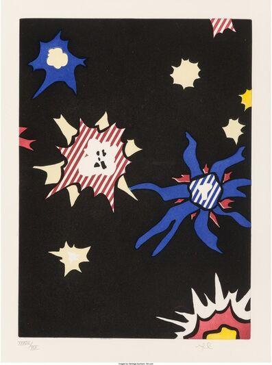 Roy Lichtenstein, 'Illustration for Hüm Bum, pl. 8, from La Nouvelle Chute de l'Amérique', 1992
