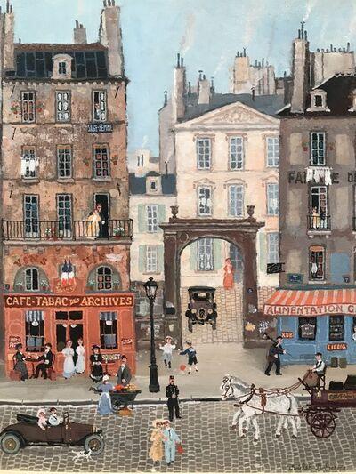Michel Delacroix, 'Rue des Archives', 2016