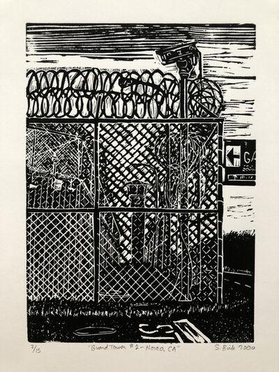 Sandow Birk, 'Prisonation: Guard Tower #2, Norco, CA', 2000