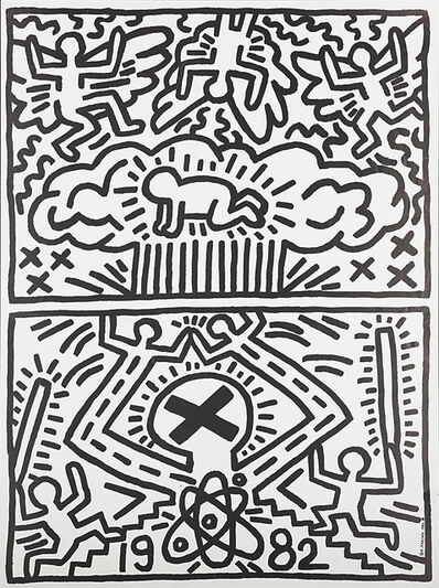Keith Haring, 'Anti-Nuclear Rally', 1982