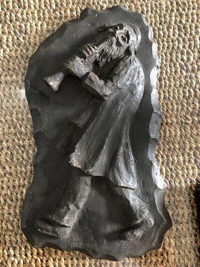 Mané-Katz, 'French Painted Maquette for Sculpture Judaica Klezmer Musician ', 20th Century