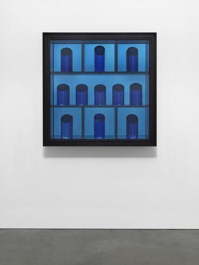 Josiah McElheny, 'Blue Prism Painting XIII', 2018