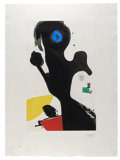 Joan Miró, 'Le Gardien de Phare', 1981