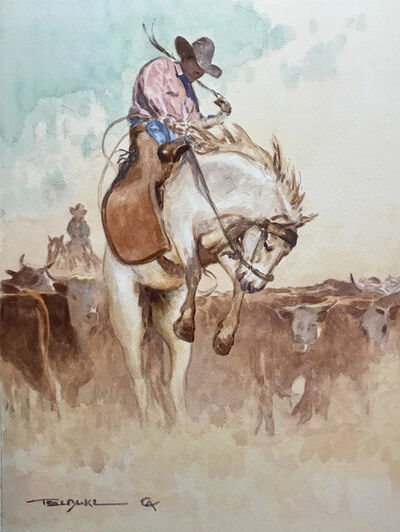 Teal Blake, 'The Bronc Twister', 2019
