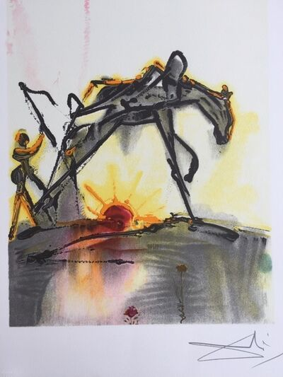 Salvador Dalí, 'Le cheval de labeur', 1983