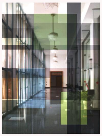 John Monteith, 'Platz #1空间#1', 2019