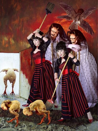 Yasumasa Morimura, 'GLENTLEMEN, YOUR TURN IS OVER', 2004