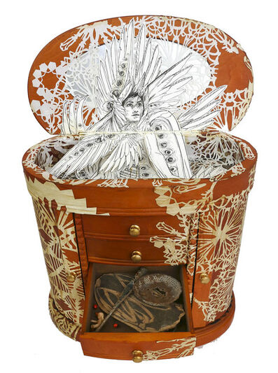Swoon, 'Seriph (box)', 2018