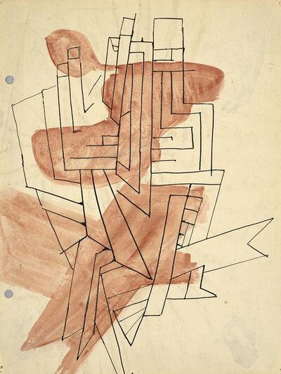 Perle Fine, 'Study for Komposition', 1945