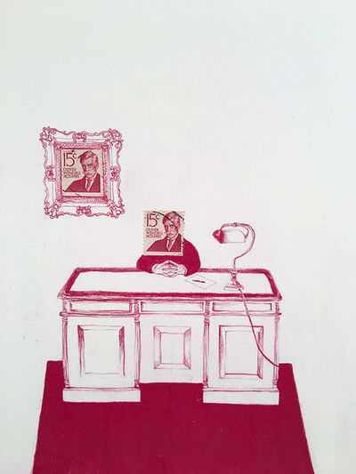 Andrea Moreau, 'USA (Oliver Wendel Holmes)', 2018