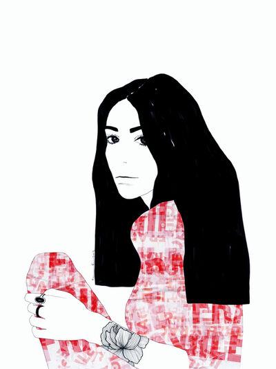 Ramona Russu, 'The girl with black hair/ Fragile 1', 2019