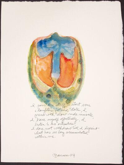 John Ransom Phillips, 'I pour the studd...', 2004
