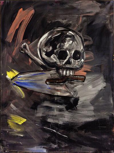 Walter Dahn, 'Der Baumeister', 1982