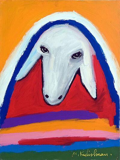 Menashe Kadishman, 'Sheep's Head', ca. 2000