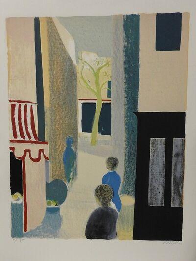 Roger Muhl, 'La vue de Paris', 1973