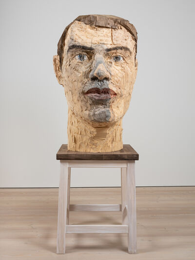 Stephan Balkenhol, 'Big Head', 2019