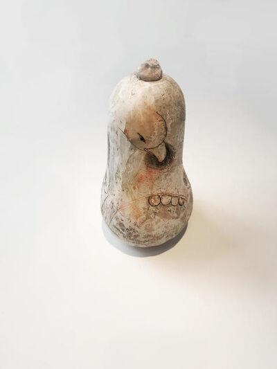 Claudia Martínez Garay, 'untitled (bird eating eye)', 2018
