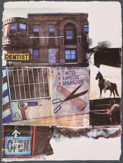 Robert Rauschenberg, 'LA Uncovered #10', 1998
