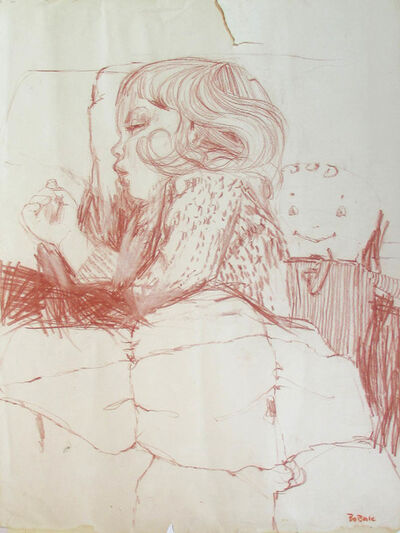 Bruno Bobak, 'Untitled (Anny Sleeping IV)', ca. 1960